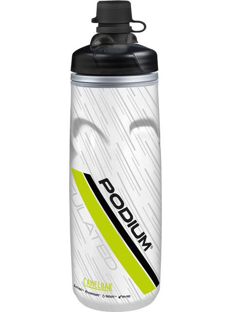CamelBak Podium Chill Trinkflasche 620ml Dirt Series Lime
